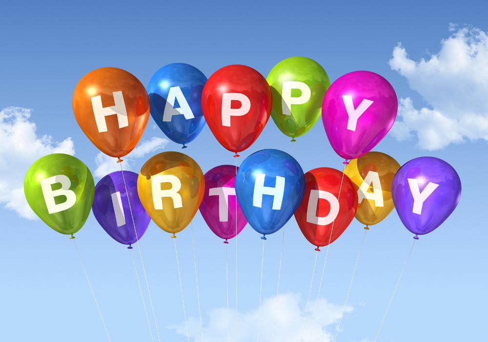 Открытки с Днем рождения с Шарами 97